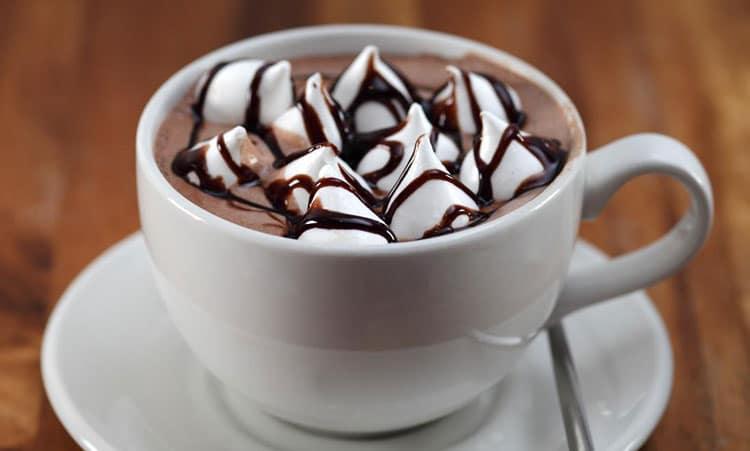 Как подать какао