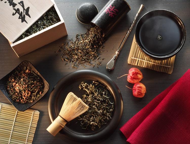 Виды чайной церемонии