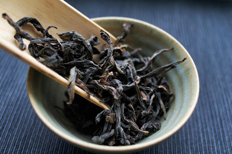 Производство чая Да Хун Пао