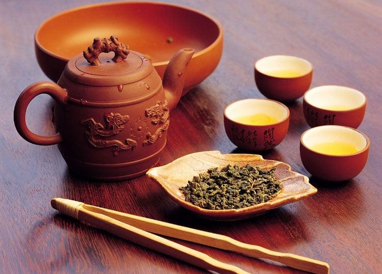 Окончание чайной церемонии