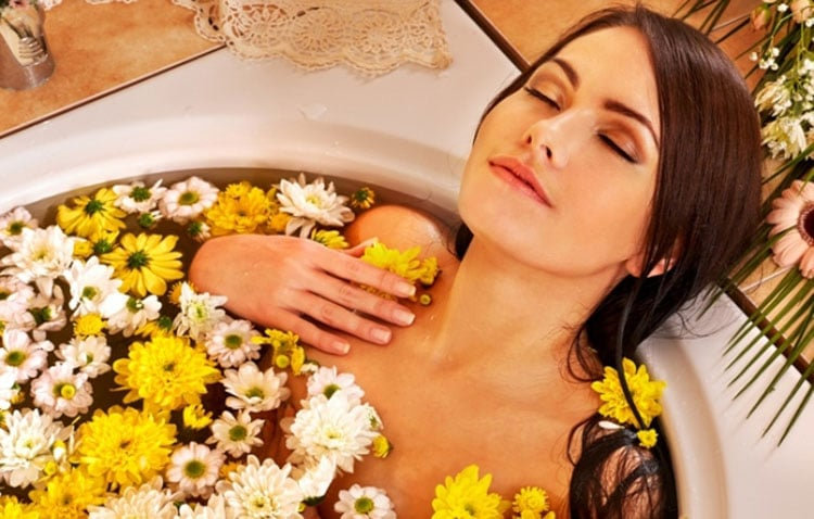 Успокоительные травы для ванны