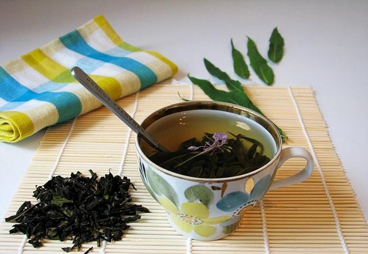 Напиток из иван-чая
