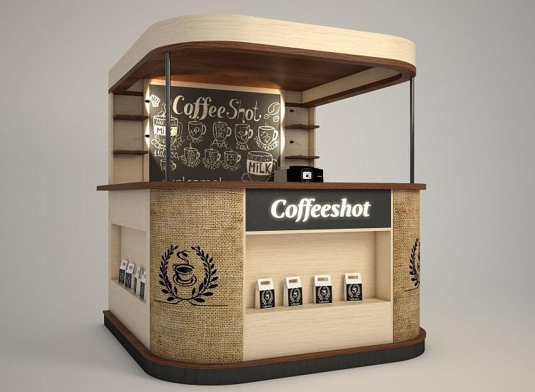 Место для продажи кофе