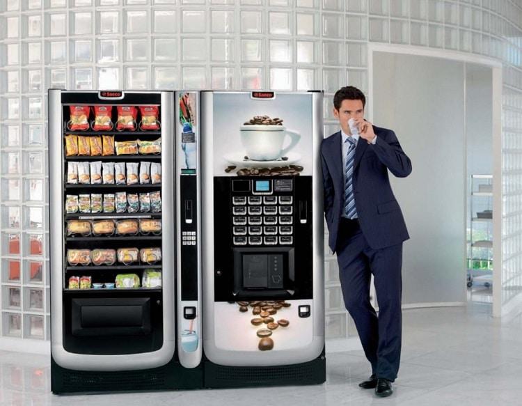 Автомат с кофе
