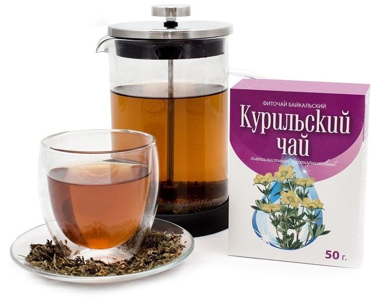 Упаковка курильского чая