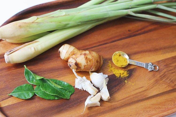 Лемонграсс в кулинарии