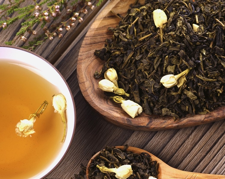 Сушеный жасминовый чай