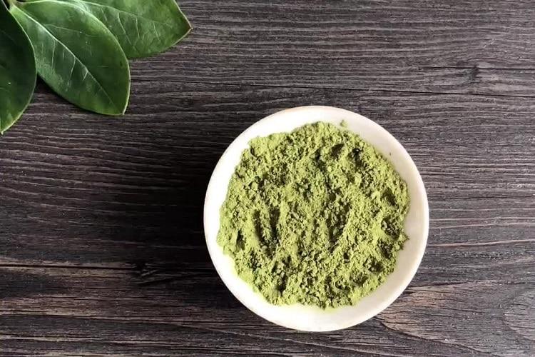 Порошок с экстрактом зеленого чая