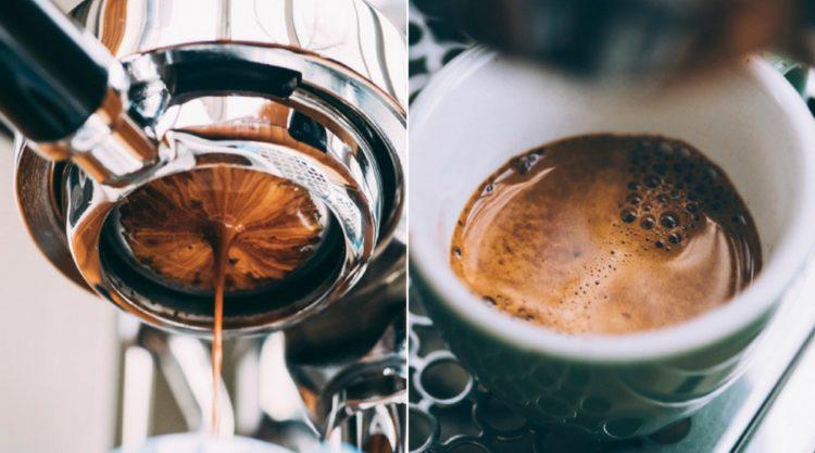 Процесс приготовления эспрессо