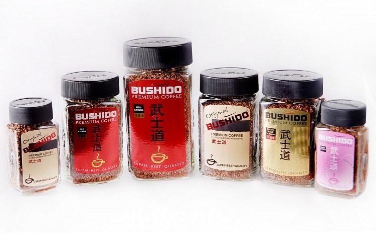 Ассортимент продукции Бушидо
