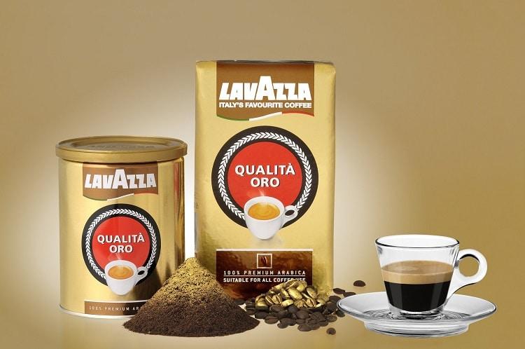 Молотый кофе Лавацца