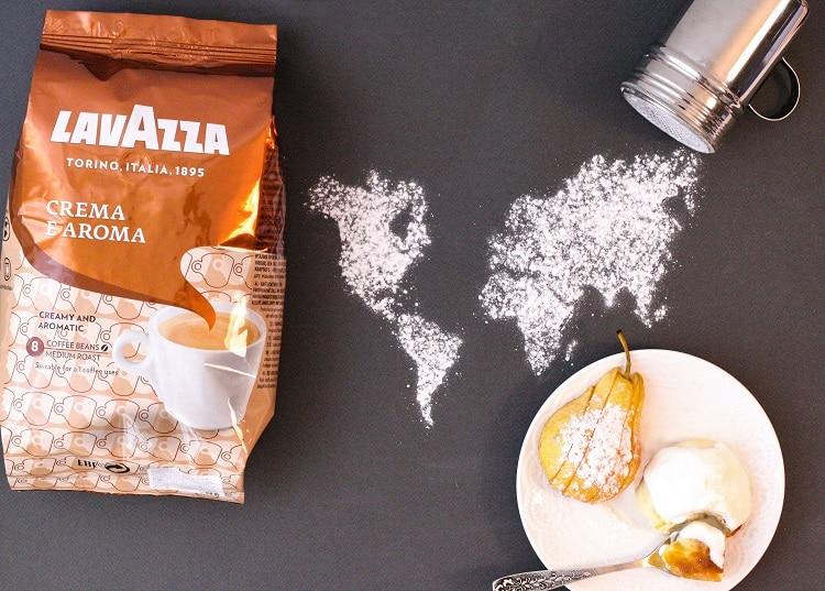 Упаковка кофе Лавацца