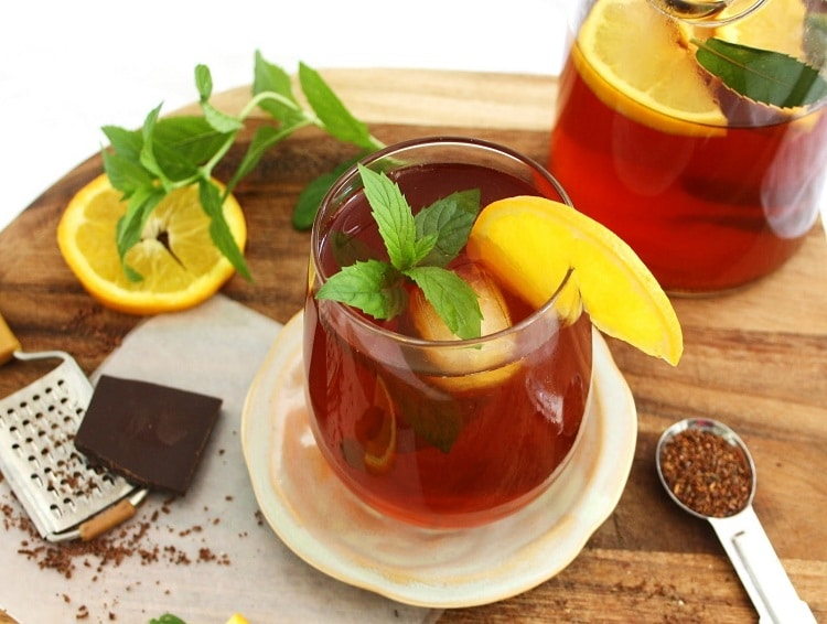 Рецепт чая ройбуш