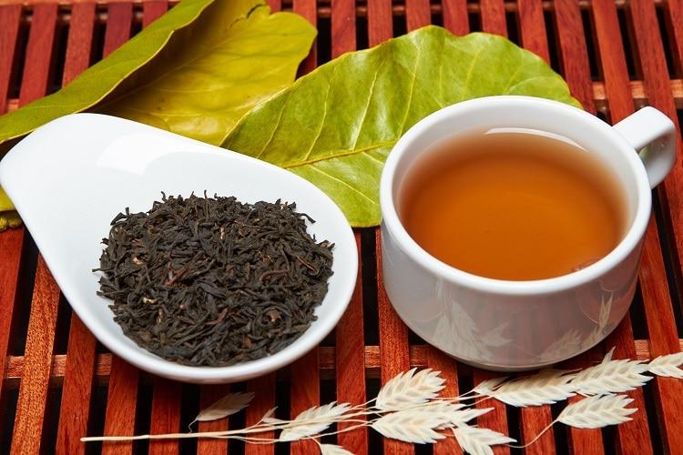 Заваренный байховый чай