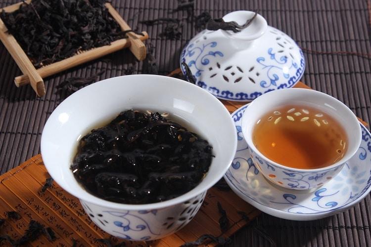 Заварка чая Да Хун Пао