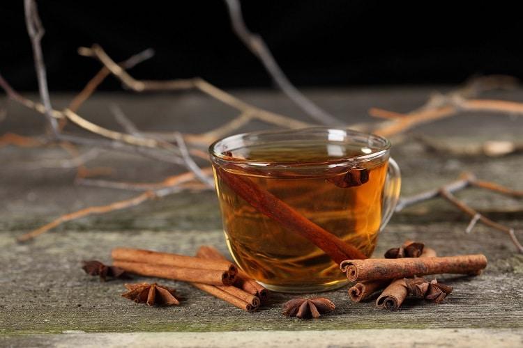 Рецепт чая с корицей