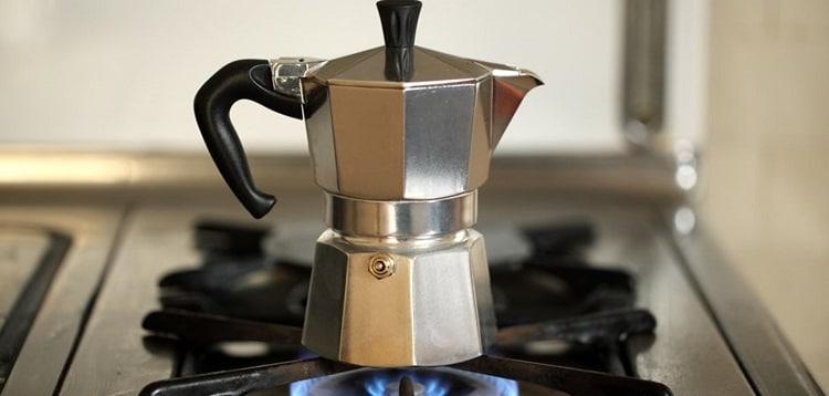 Кофеварка на газу