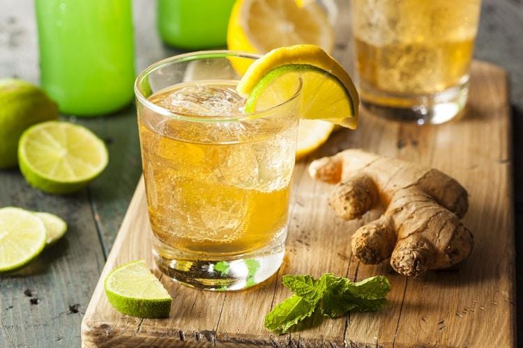 Лимонад из имбиря