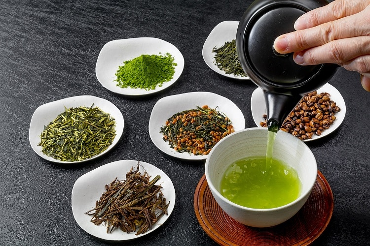 Разновидности зеленого чая