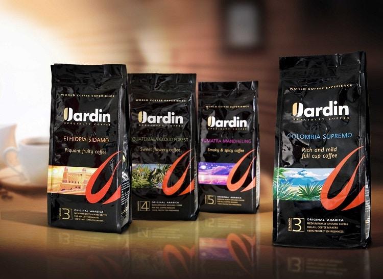 Упаковки с кофе