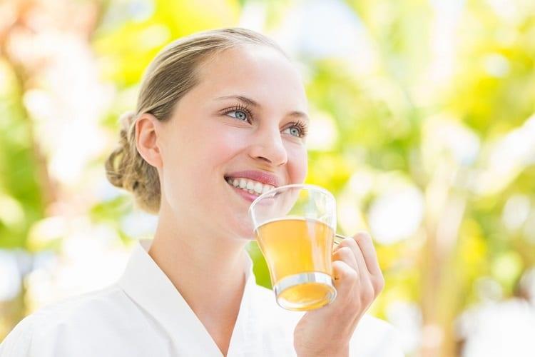 Прием очищающего чая