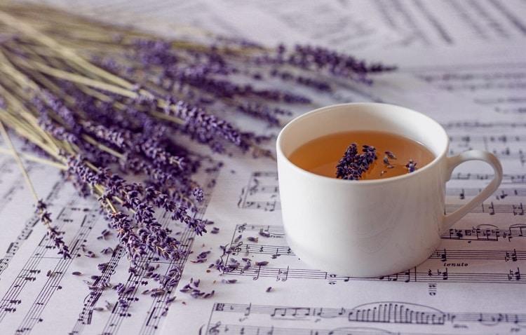 Лаванда в чае
