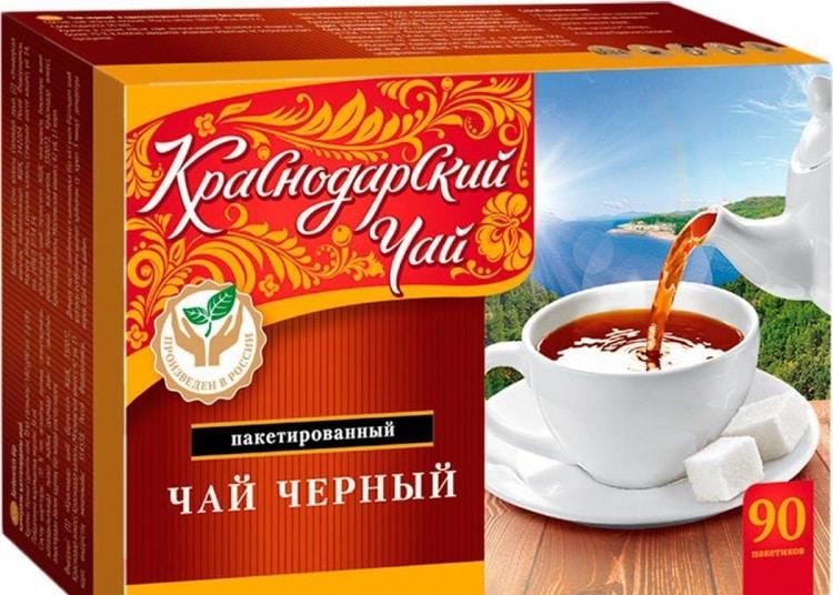 Чай из Краснодара