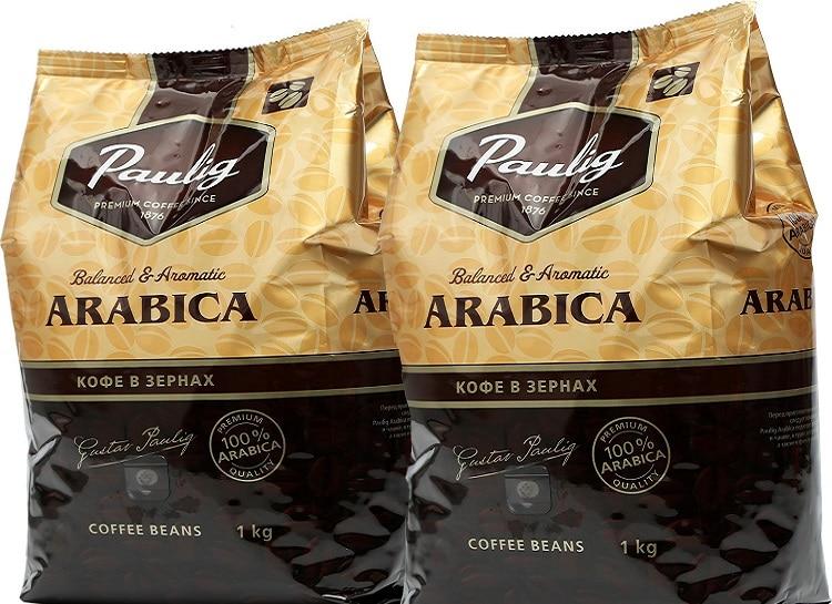 Упаковка кофе Паулиг