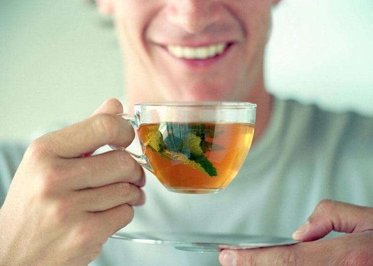 Мятный чай для мужчин