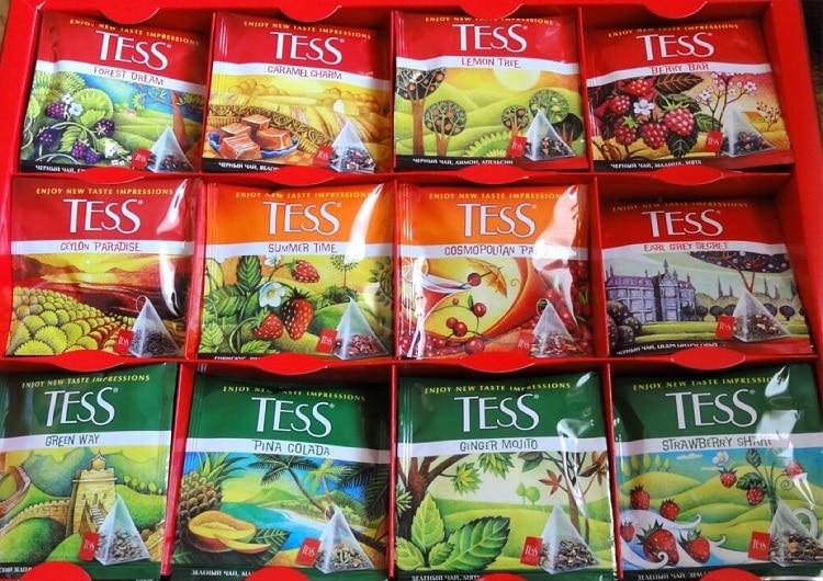 Подарочный набор чая Тесс