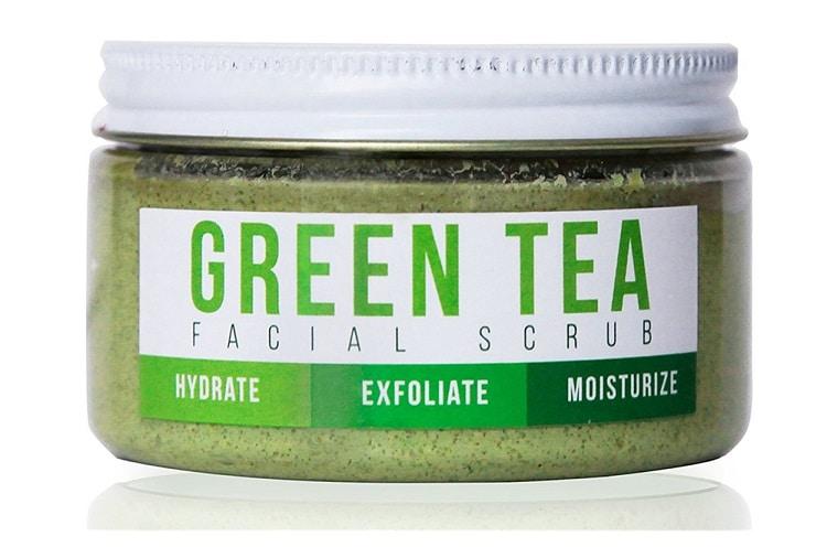 Маска из зеленого чая