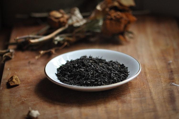 Сушеные листья чая