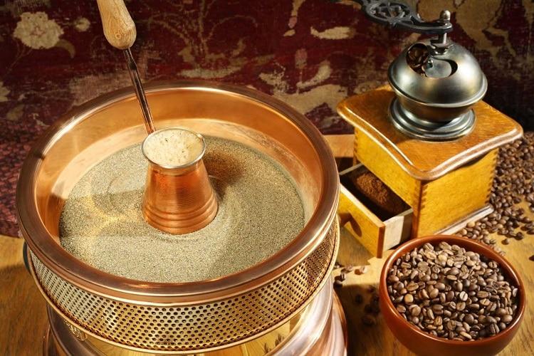 Песок для приготовления кофе