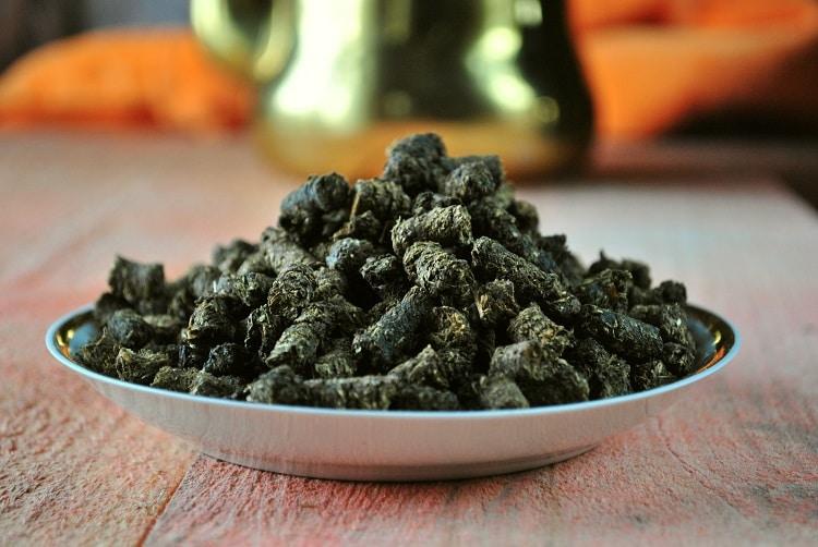Ферментация листьев смородины