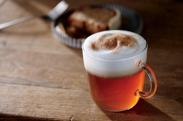 Рецепт чая латте