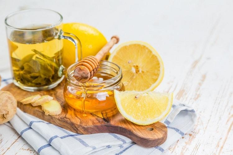Рецепт чая с лимоном и медом