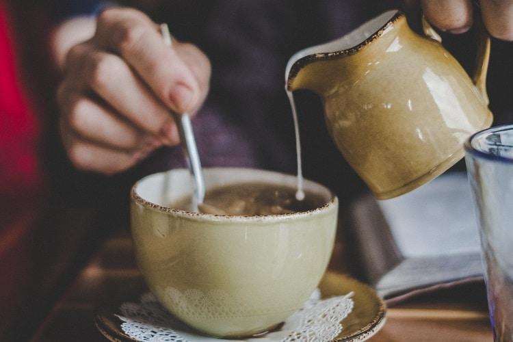 Соленый чай с молоком в пакетиках